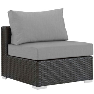 Link to Stopover Outdoor Patio Fabric Sunbrella® Armless Similar Items in Outdoor Sofas, Chairs & Sectionals