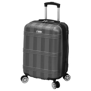 London Fog Kingsbury 21-Inch Expandable Hardside Carry On Spinner Suitcase