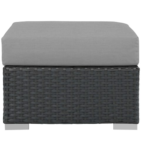 Stopover Outdoor Patio Sunbrella® Ottoman