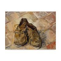Vincent Van Gogh 'Shoes' Canvas Art - Multi-color