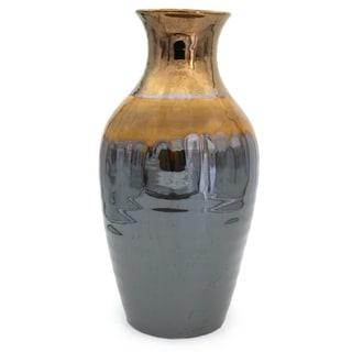 Claybarn Patina Sienna Lipped Vase