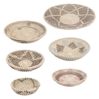 The Curated Nomad Seagrass Basket (Set of 7)