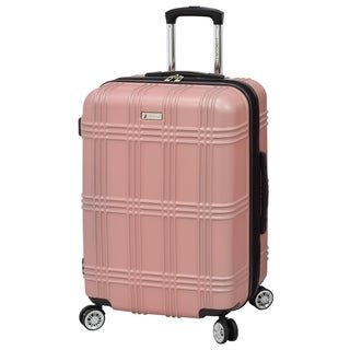 London Fog Kingsbury 25-inch Expandable Hardside Spinner Suitcase