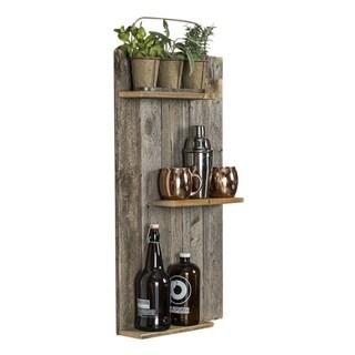 Del Hutson Designs Rustic Mod Wall Shelf