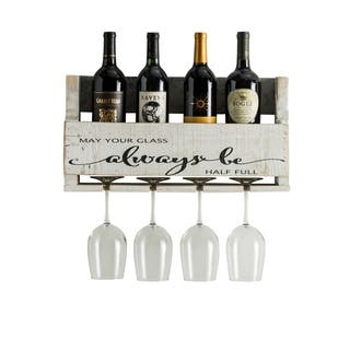 Buy White Wall Mount Wine Racks Online At Overstockcom Our Best