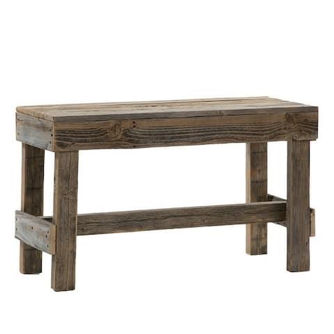Del Hutson Designs Barnwood Bench