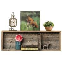 Del Hutson Designs Natural Rustic Shelf