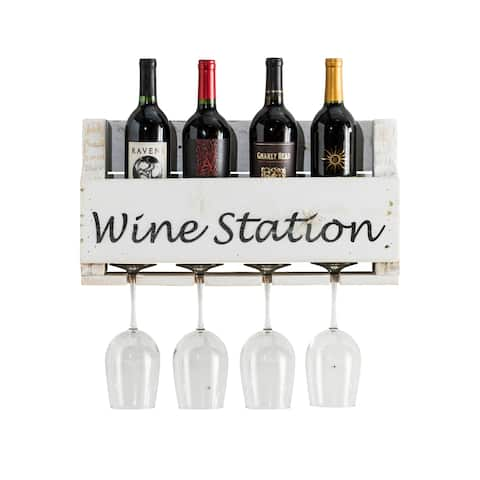 "Handmade ""Wine Station"" Little Elm Collection"