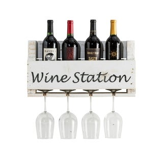 Del Hutson Designs Wine Quote Little Elm Collection, Wine Station
