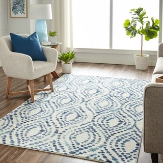 Mohawk Home Prismatic Dotted Ogee Area Rug - 5'X8'