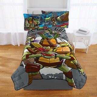"Nickelodeon Teenage Mutant Ninja Turtles Cross HatchingPlush Twin Blanket, 62"" X 90"""