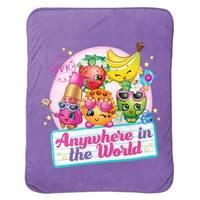 Shopkins Anywhere Travel Blanket