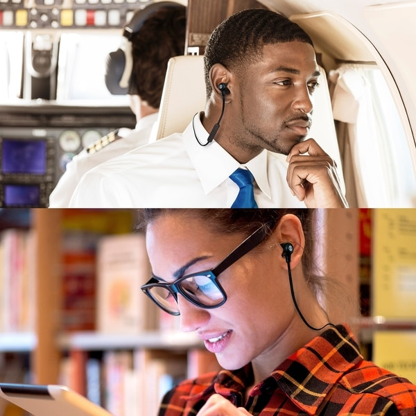 Sports Headset All OontZ BudZ 2 Wireless Bluetooth Headphones HD Sound /& Bass