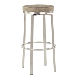 Katy 30 inch Fabricated Counter Swivel Stool with Steel Base, 2-Pack
