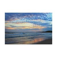 Incredi 'Early Sunset' Canvas Art - Multi-color
