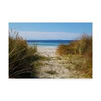 Incredi 'To The Beach' Canvas Art - Multi-color