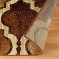 Superior Designer Viking Coffee Area Rug - 2' x 3'