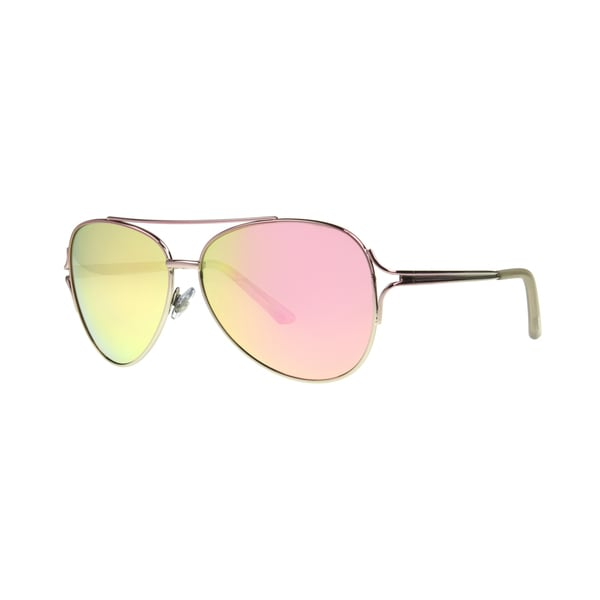 da608752e23 Shop Angel Eyewear Byefelicia Women s Shiny Pink Frame Smoke with Pink  Mirror Lens Sunglasses - Medium - Free Shipping On Orders Over  45 -  Overstock - ...