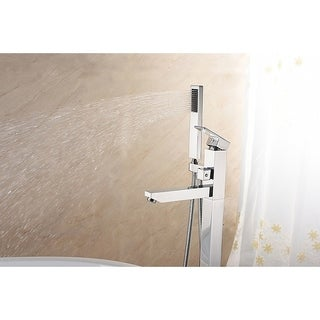 SevenFalls 8010 Freestanding Bathtub Faucet with Hand Shower