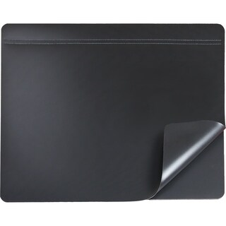"19"" x 24"" Hide-Away Lift Top Desk Organizer Pad, Black"