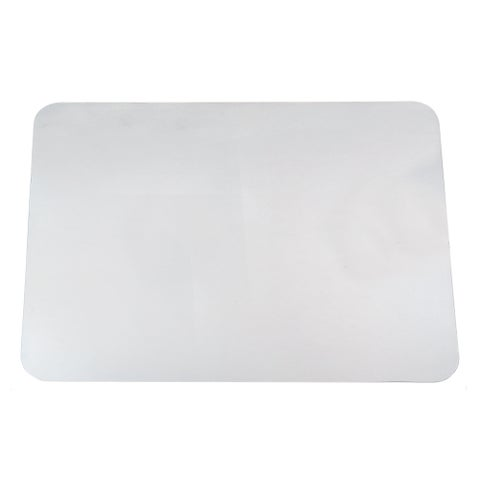 """19"""" x 24"""" Krystal View Clear Antimicrobial Desk Pad Organizer with Microban®, Clear"""
