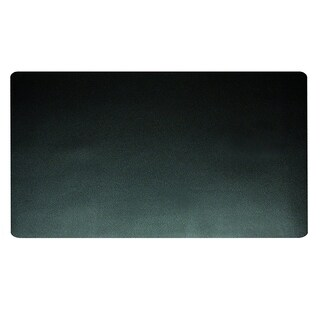 "20"" x 36"" Eco-Black Desk Pad with Microban®, Black"