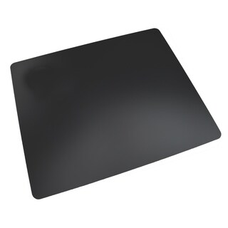 "17"" x 24"" Rhinolin II Ultra-Smooth Writing Pad Desk Mat with Exclusive Microban Antimicrobial Protection, Black"