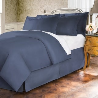 400 Thread Count 100 Percent Cotton 15-inch Drop Bed Skirt