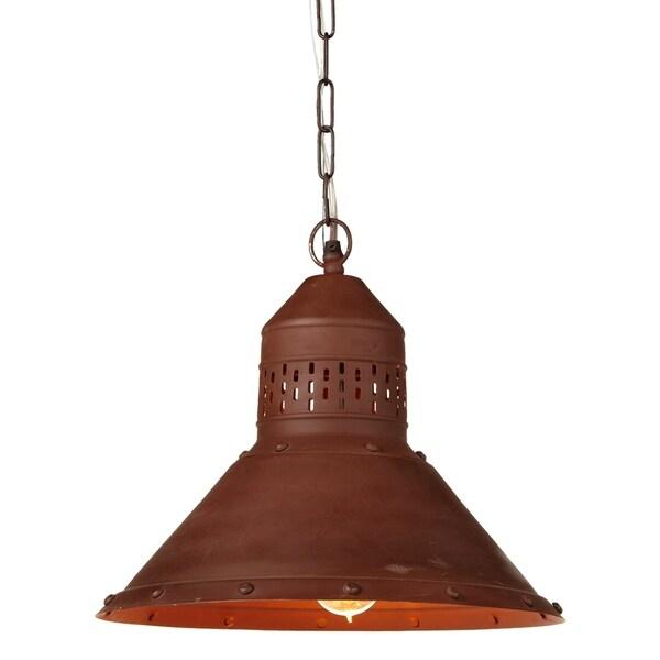 Vintage Copper Pendant.