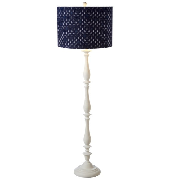 Anchor Pattern Floor Lamp.