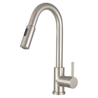 "Morgana 16"" Single Handle Pull Down Standard Kitchen Faucet"