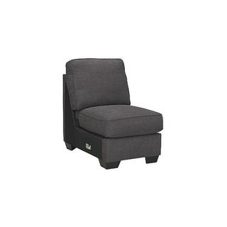 Signature Design by Ashley, Alenya Casual Charcoal Armless Chair