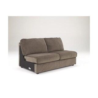 Signature Design by Ashley, Jessa Place Contemporary Dune Armless Loveseat