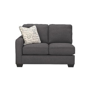 Clearance. Signature Design By Ashley Alenya Casual Charcoal Left Arm  Facing Loveseat