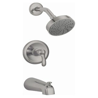 Rhine 2.0 GPM Single Function Shower Head with Faucet