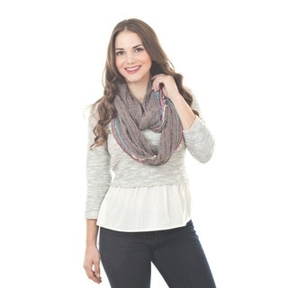 Link to Striped Infinity Scarf Similar Items in Scarves & Wraps