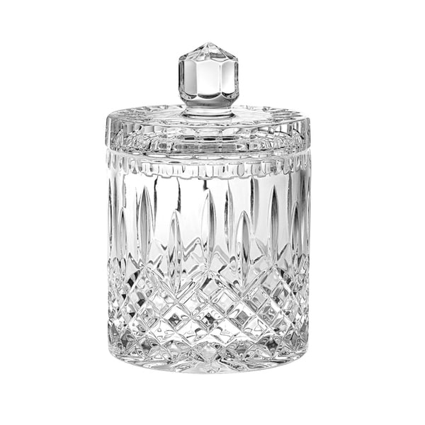 "Majestic Gifts European Handcut Crystal Cookie Jar / Candy Box, 8""H, 34 Oz."