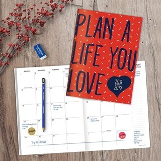 July 2018 - June 2019 Plan the Life You Love Monthly Planner