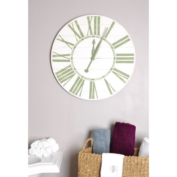 Oversized Wall Clock On Sale Overstock 21033930