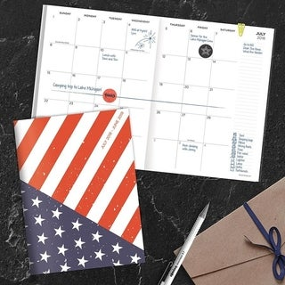 July 2018 - June 2019 America Monthly Planner