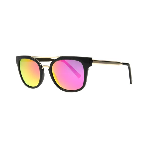 Shop Angel Eyewear Severine Women s Black Frame with Hot Pink Mirror Lens  Sunglasses - Medium - Free Shipping On Orders Over  45 - Overstock -  21035529 efcc792cee