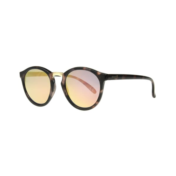 3bc56dd06a79a Shop Angel Eyewear Hera Women s Pink Demi Frame Smoke with Pink Mirrored  Lens Sunglasses - Small - Free Shipping On Orders Over  45 - Overstock.com  - ...