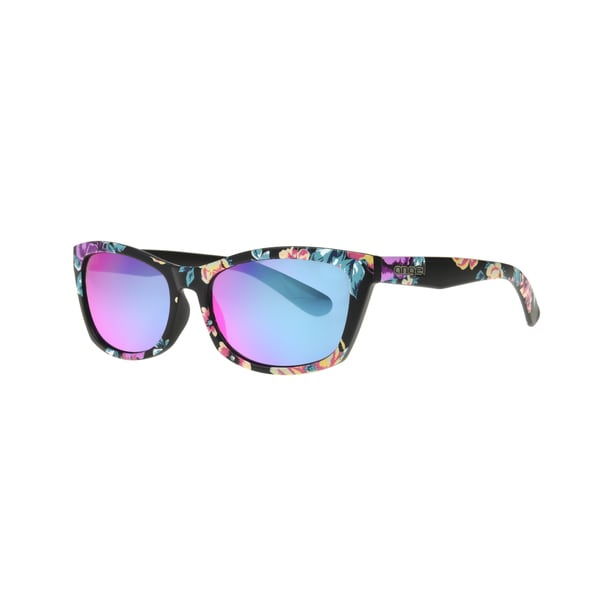 Shop Angel Eyewear Hadlee Women s Floral Frame Smoke with Pink Mirror Lens  Sunglasses - Brown - Small - Free Shipping On Orders Over  45 - Overstock -  ... 49f9ed86fd
