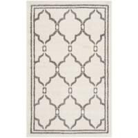 Safavieh Amherst Indoor/ Outdoor Ivory/ Grey Rug - 3' x 5'