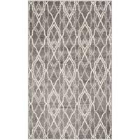 Safavieh Amherst Indoor/ Outdoor Grey/ Light Grey Rug - 3' x 5'