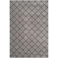 Safavieh Tunisia Grey/ Black Rug - 3' x 5'