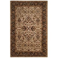 Safavieh Handmade Persian Legend Ivory/ Black Wool Rug - 6' x 9'