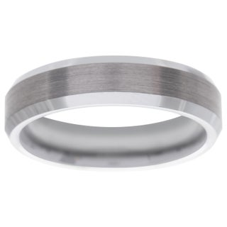 Men's Tungsten Carbide Band (6 mm) (More options available)
