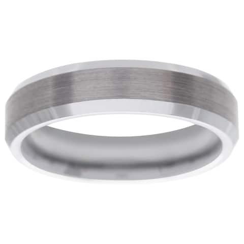 Men's Tungsten Carbide Band (6 mm)