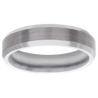 Men's Tungsten Carbide Band (6 mm)|https://ak1.ostkcdn.com/images/products/2104992/P10388704.jpg?impolicy=medium